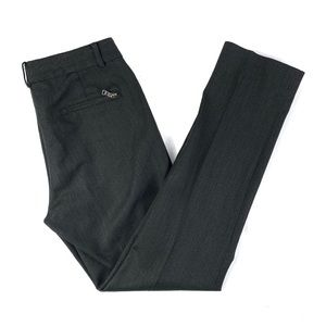 Ralph Lauren Black Label Wool Straight Leg Trouser